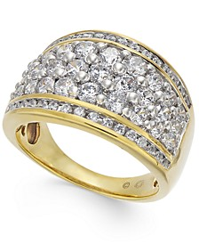 Diamond Band Statement Ring (2 ct. t.w.) in 14k Gold