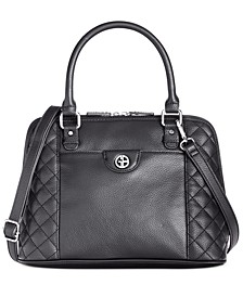 Quilted Dome Satchel, Created for Macy's