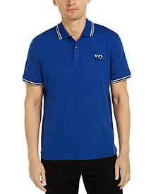 Men's Stacked Logo Polo Shirt