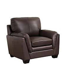 Yasmin Leather Arm Chair