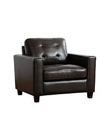 Addison Leather Arm Chair