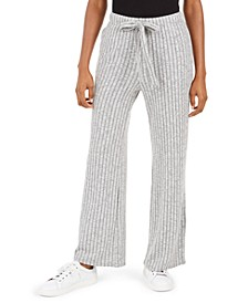 Want It All Ribbed-Knit Drawstring Pants