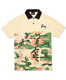 Men's Camo Fade Polo Shirt