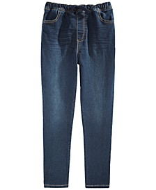 Big Boys Stretch Drawstring Jeans, Created For Macy's