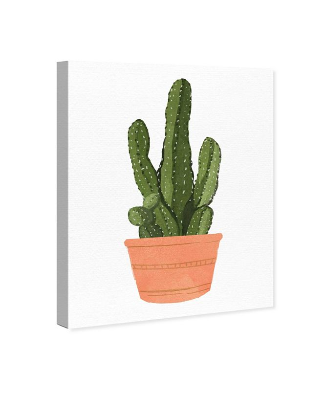 "Oliver Gal Cactus Coral III Canvas Art, 17"" x 20"""