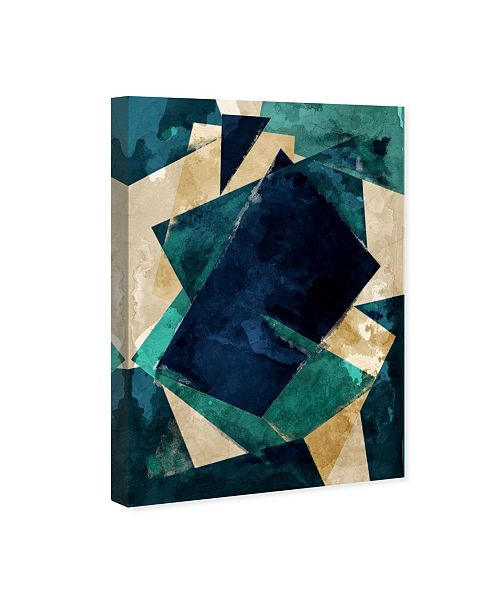 "Oliver Gal Abstracta Dos Canvas Art, 10"" x 15"""