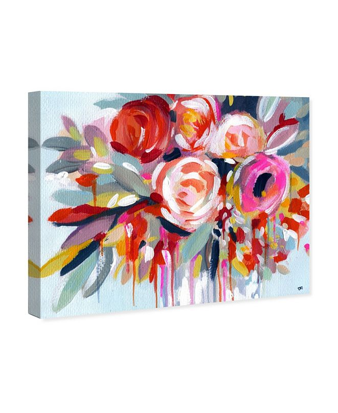 "Oliver Gal Fleur Canvas Art, 17"" x 20"""