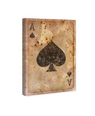 Ace of Spades Canvas Art, 30