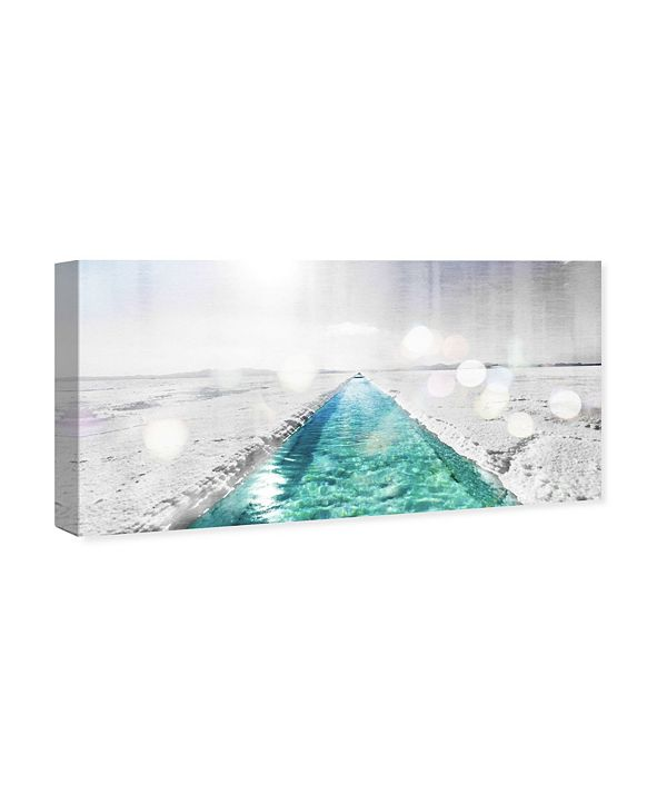 """Oliver Gal Fresh Water River Canvas Art, 40"""" x 20"""""""