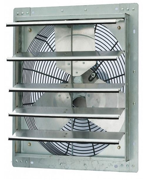 "iLiving 18"" Single Speed Shutter Exhaust Fan, Wall-Mounted"