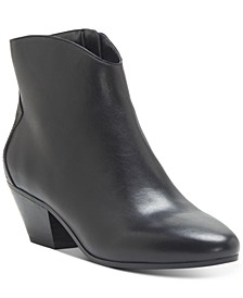 INC Women's Idra Block-Heel Booties, Created for Macy's