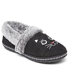Women's BOBS for Cats Too Cozy Meow Pajamas Slipper Shoes from Finish Line