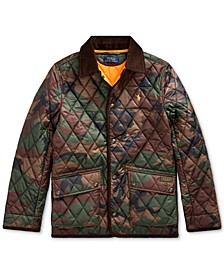 Big Boy's Quilted Car Coat