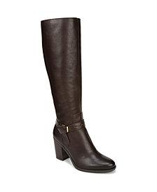 Naturalizer Kamora Wide Calf High Shaft Boots
