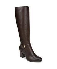 Naturalizer Kamora High Shaft Boots Wide Calf