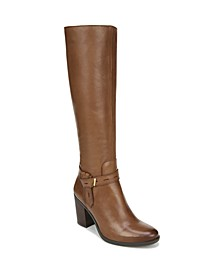 Kamora Wide Calf High Shaft Boots
