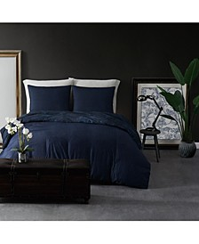 CLOSEOUT! Denim Full/Queen Duvet Set