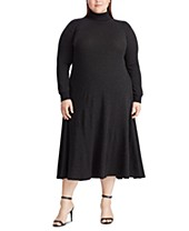 Black Turtleneck Plus Size Dresses - Macy\'s