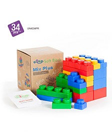 16 Single and 6 Plump and 12 Basic Mix Plus Series 34 Piece Set