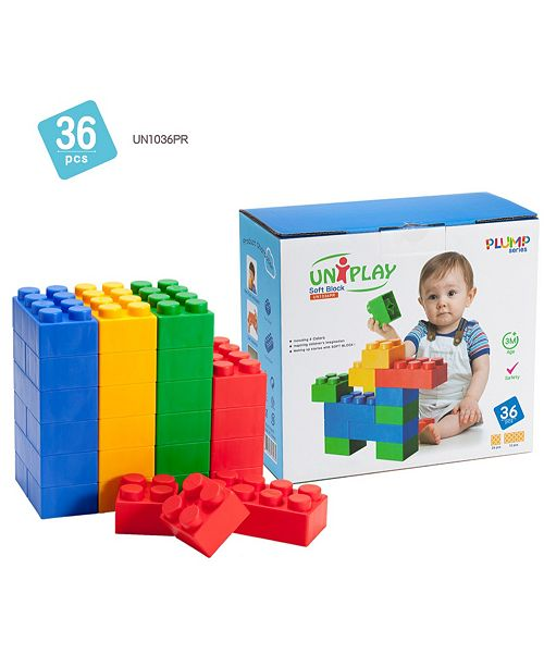 UNiPLAY Tensquare  12 Large and 24 Small Plump Series 36 Piece Set