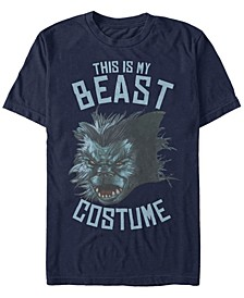 Marvel Men's Beast Halloween Costume Short Sleeve T-Shirt