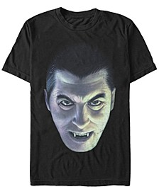 Universal Monsters Men's Dracula Big Face Short Sleeve T-Shirt