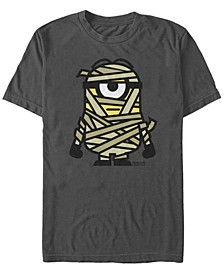 Despicable Me Men's Minions Mummy Halloween Monster Short Sleeve T-Shirt