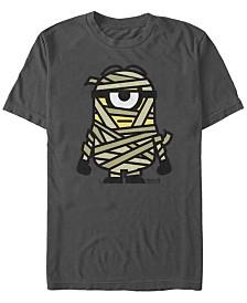 Despicable Me Men's Minions Mummy Halloween Monster Short Sleeve T-Shirt