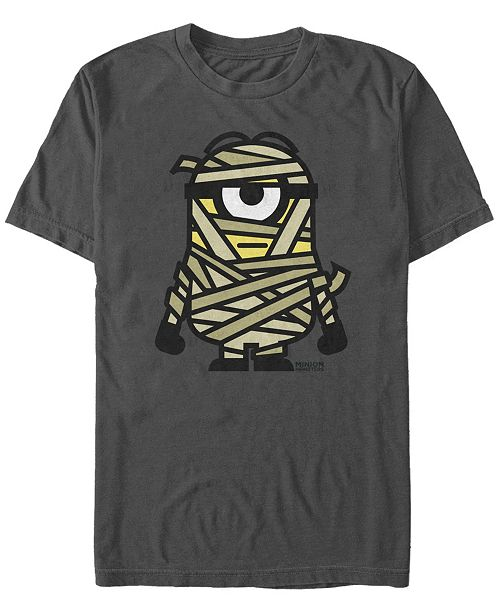 Fifth Sun Despicable Me Men's Minions Mummy Halloween Monster Short Sleeve T-Shirt