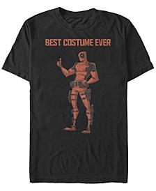 Marvel Men's Deadpool Best Costume Ever Short Sleeve T-Shirt