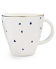 Blue Bay Dessert Mug Dot