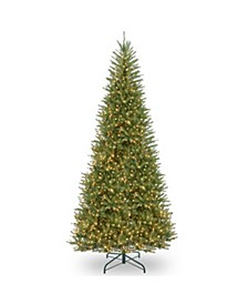 14 ft. Dunhill® Fir Slim Tree with Clear Lights