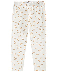 Toddler Girls Glitter Dot Leggings, Created For Macy's