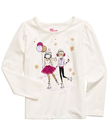 Little Girls Skating Girls T-Shirt, Created For Macy's