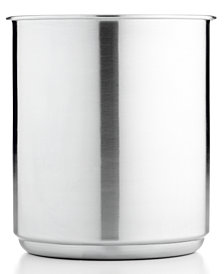 Martha Stewart Collection Stainless Steel Utensil Crock, Created for Macy's