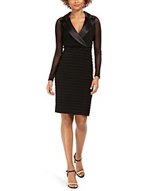 Tuxedo Sheath Dress