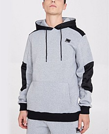 Hoodie with Contrast Panels