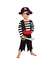 Toddler Boys Rascal Pirate Costume