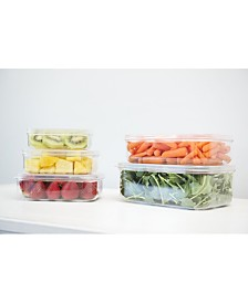 Food Storage Containers, Set of 5