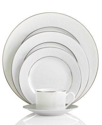 Echoing the desert\u0027s windswept dunes this elegant Bernardaud dinnerware collection features subtle waves of texture rendered in white Limoges porcelain.  sc 1 st  Macy\u0027s & Bernardaud Dinnerware Dune Limoges Collection - Fine China - Macy\u0027s
