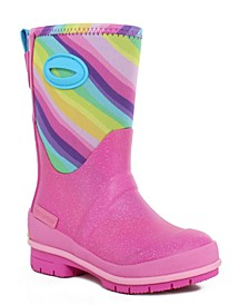 Toddler, Little Girl's and Big Girl's Cold-Weather Neoprene Boots