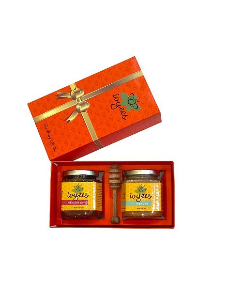 Ivyees Hibiscus, Sorrel and Creamed Floral, Ginger Honey Gift Set