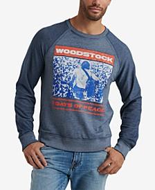 Mens Woodstock Burnout Crew