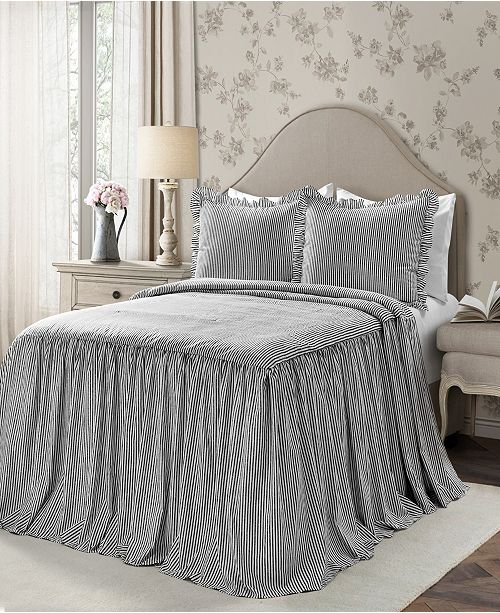 Lush Décor Ticking Stripe 2 Piece Twin