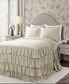 Allison Ruffle 3-Piece Queen Bedspread Set