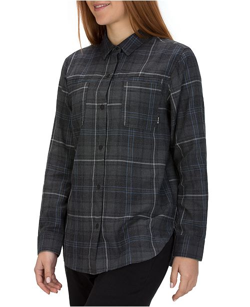 Hurley Wilson Relaxed Plaid Flannel Shirt