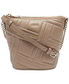 Allen Crossgrid Bucket Bag, Created For Macy's