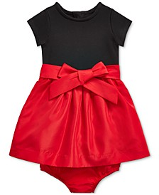 Baby Girls Combo Dress & Bloomer