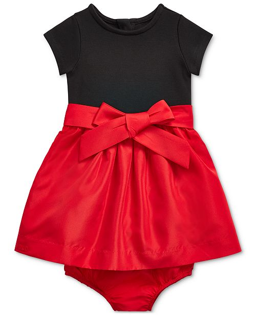Polo Ralph Lauren Baby Girls Combo Dress & Bloomer