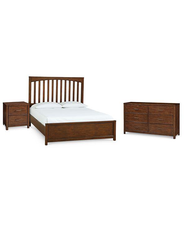 Furniture Ashford Bedroom Furniture, 3-Pc. Set (California King Bed, Nightstand & Dresser)